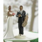 La figurine la mariée exaspérée noire