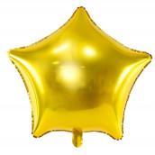 Le ballon aluminium étoile or