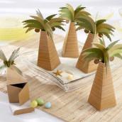 La boîte à dragées palmier