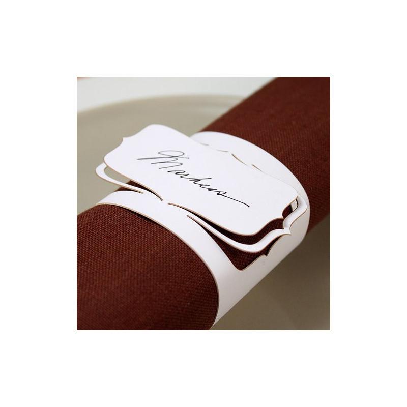 de table > Chemin de table et rond serviette > Le rond de serviette ...