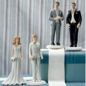 la figurine maris interchangeables - Figurine Mariage Gay