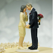 La figurine mariage tardif ou anniversaire de mariage