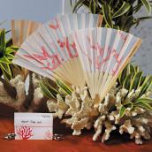 L'échantillon éventail corail