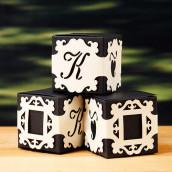 Les 5 bandes personnalisées baroque en dentelle de papier