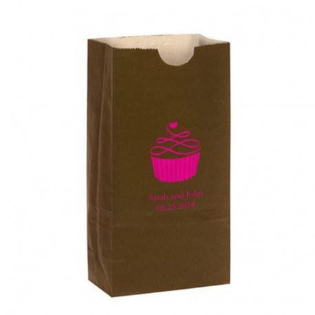 sac bonbons personnalis cupcake. Black Bedroom Furniture Sets. Home Design Ideas
