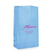 Les sacs en papier personnalisés just married