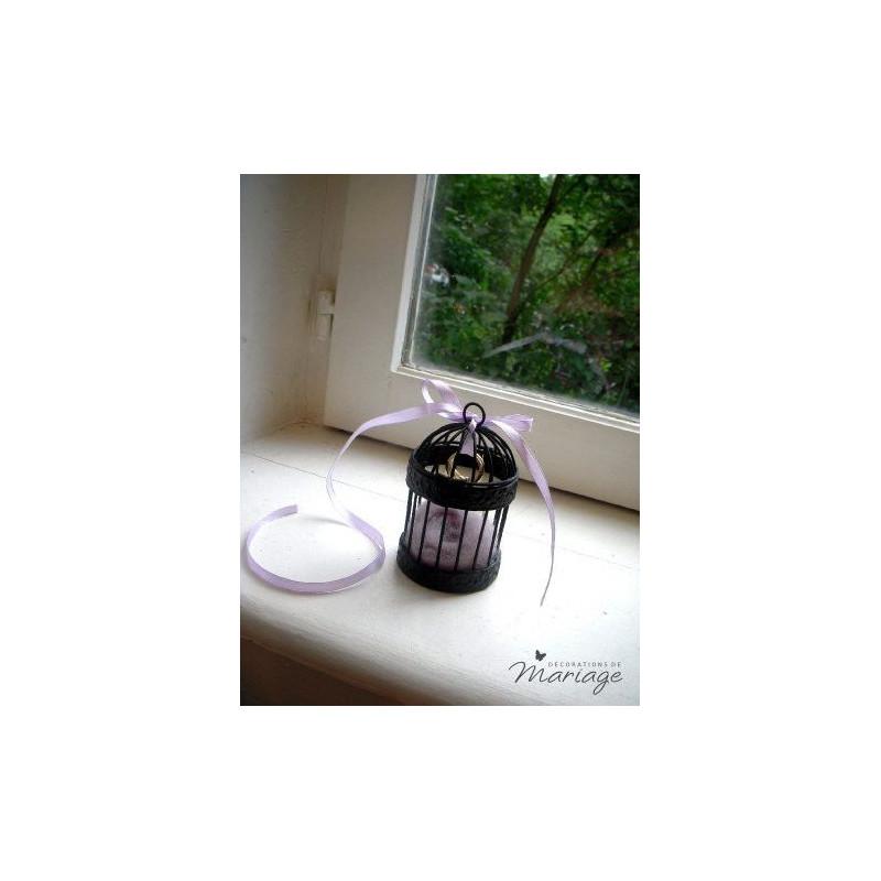 cage a oiseau miniature noire pour drag es. Black Bedroom Furniture Sets. Home Design Ideas