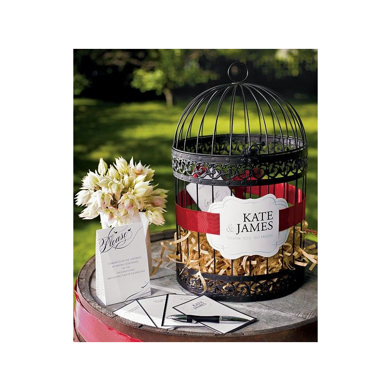 lurne de mariage cage - Urne Mariage Cage