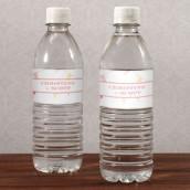 Les 12 étiquettes à bouteille d'eau fanions en fête