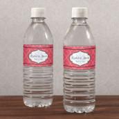 Les 12 étiquettes à bouteille d'eau orient