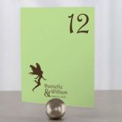 Les 12 numéros de table fantaisie féerique