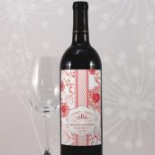 Les 8 étiquettes bouteille de vin esprit baroque (8 coloris)
