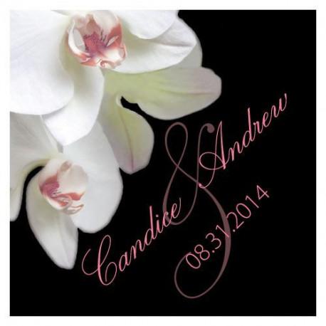 Les 20 cartes personnalisées  orchidée
