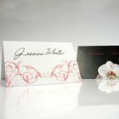 Le carton porte nom orchidée (par 6)