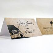 Les 6 cartons chevalets rustiques