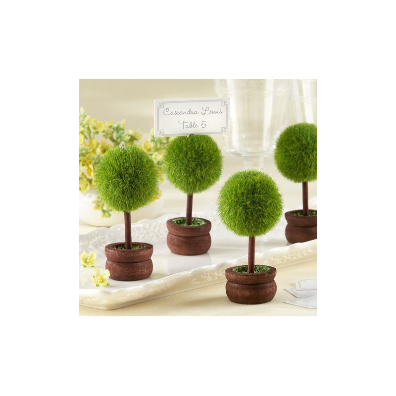 Porte nom mariage arbre miniature