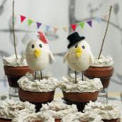 Les figurines de mariages petits oiseaux