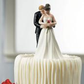 La figurine couple enlacé