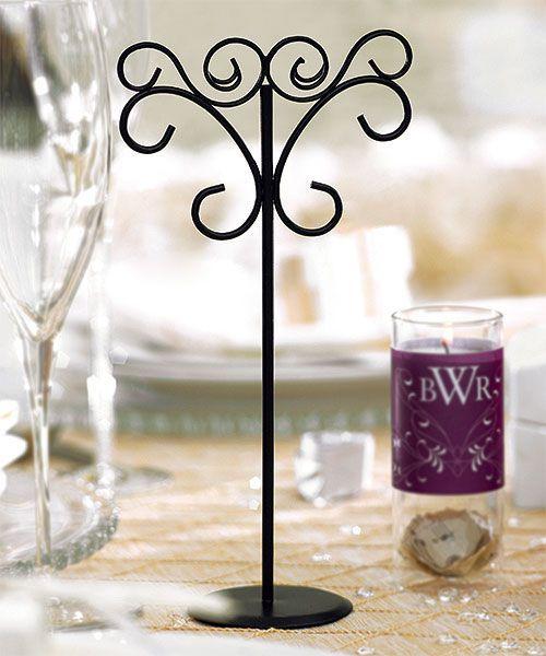 Le porte num ro de table fer forg place du mariage for Les portes de fer forge