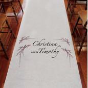 Le tapis d'église personnalisé fleur de cerisier