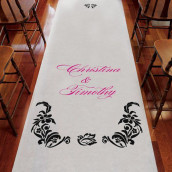 Le tapis d'église damas personnalisé