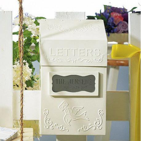 Urne boite aux lettres mariage - Decoration boite aux lettres ...