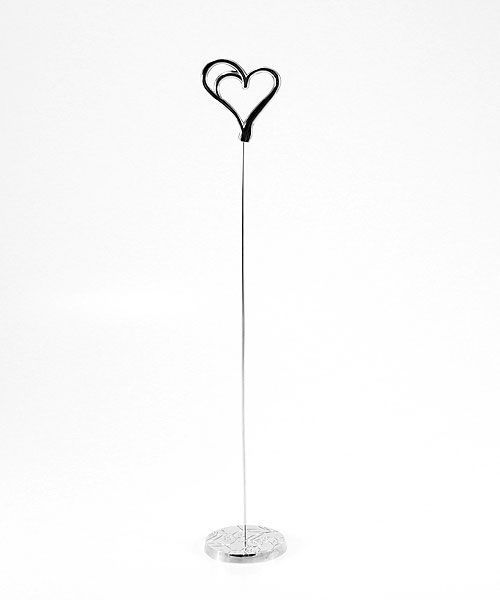 les 6 porte num ros de table double coeur place du mariage. Black Bedroom Furniture Sets. Home Design Ideas