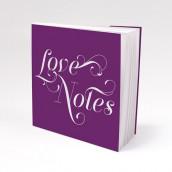 Les 12 blocs note personnalisés Love notes