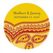 Le sticker personnalisé oriental - 2 coloris
