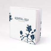 Les 12 blocs note personnalisés floral moderne