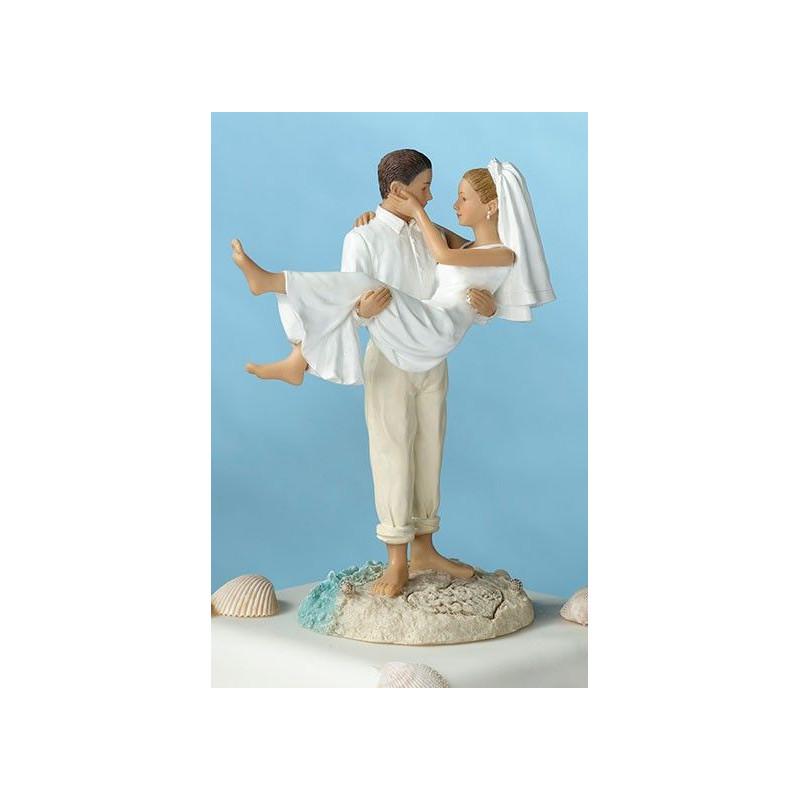 Mari mariés recherchant la mariée mariée