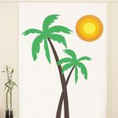 Le photobooth soleil et palmier