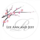 Le sticker personnalisé fleur de cerisier