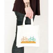 Le sac en coton personnalisé vélo