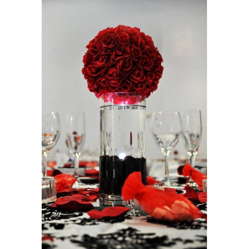 Boule de fleur mariage - Centre de table fleurs artificielles ...
