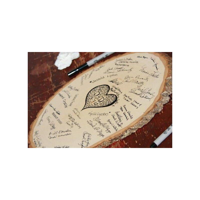 Livre d 39 or rondin de bois deco rustique - Deco avec rondin de bois ...