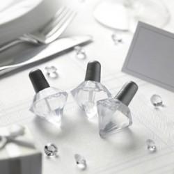 Les  24 bouteilles à bulles diamant