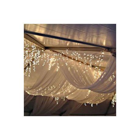 le pan de tulle pour drap 160m sur 10m - Drap Mariage Plafond