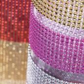 Le ruban strass (24 rangées)- 11 coloris