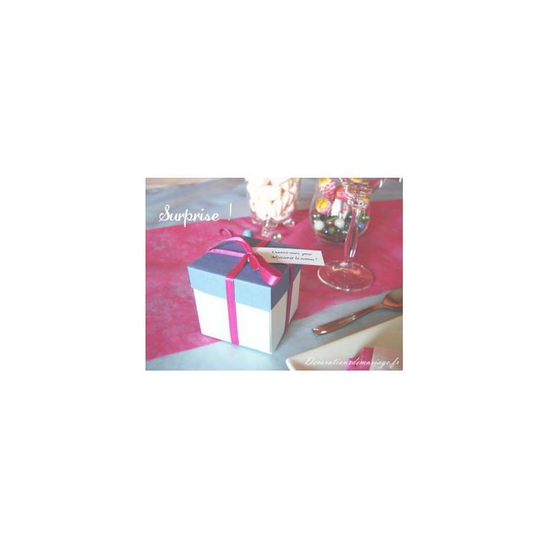 mariage surprise menu paquet cadeau. Black Bedroom Furniture Sets. Home Design Ideas