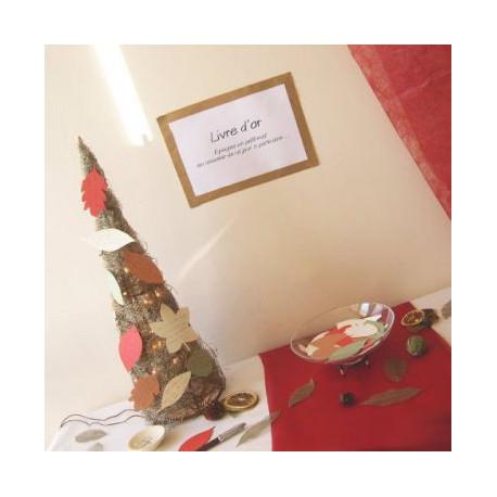 mariage automne cone des bois livre dor. Black Bedroom Furniture Sets. Home Design Ideas