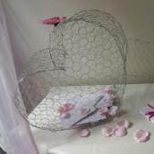 Idees urne mariage 1001 id es - Comment decorer une corbeille de mariage ...