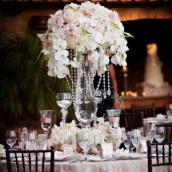 Décoration de table mariage :  Le centre de table