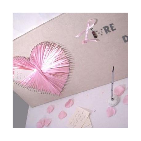 thme mariage amour le livre dor ple mle en coeur - Pele Mele Photo Coeur