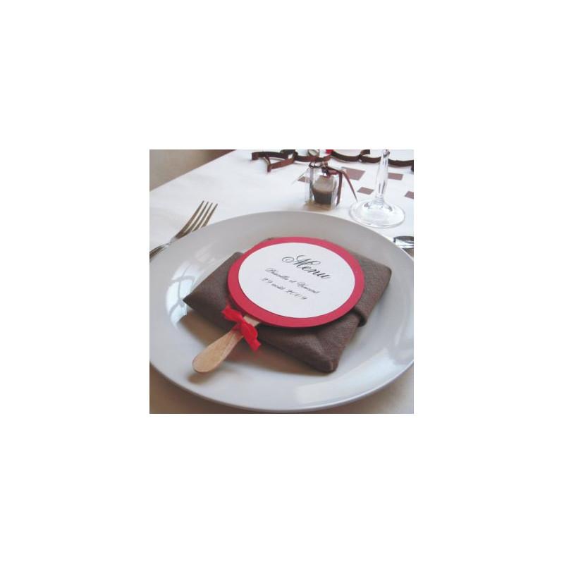 Populaire mariage gourmandise menu sucette WM46