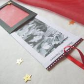 Décoration de mariage sur le thème du cinéma : faire-part cinéma