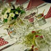 La décoration de Karine et Guillaume : mariage champêtre à la ferme