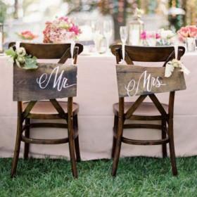 Idées de décoration de chaises/bancs d'église