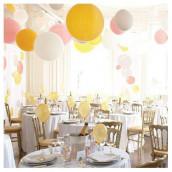 Idées pour la décoration de salle de mariage