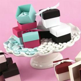 Idées pour la boîte à dragées cube